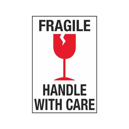 Fragile Handle With Care - 4 x 6