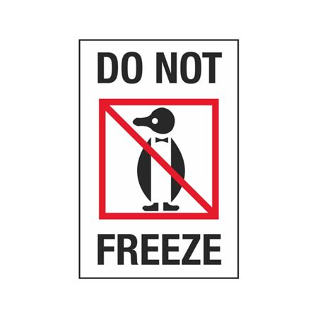 Do Not Freeze - 4 x 6