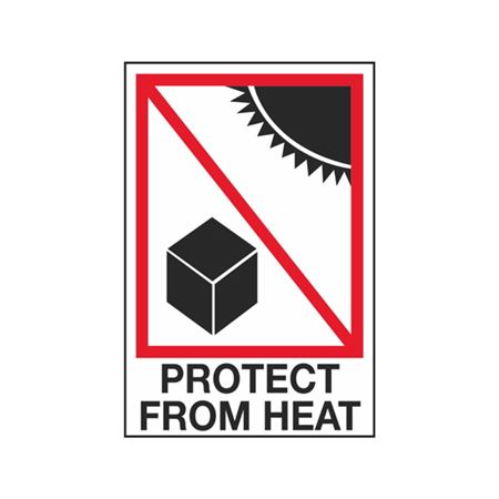 Protect From Heat - 4 x 6