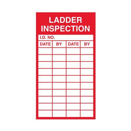 Ladder Inspection - 2 1/2 x 4 1/2