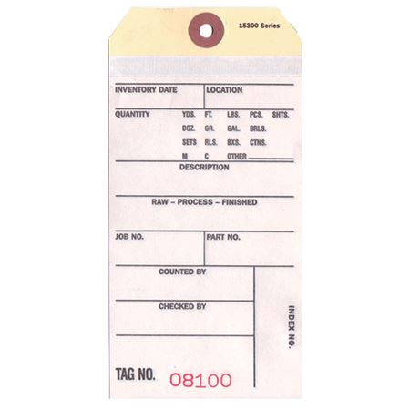 Inventory Tags - Style IT-2A