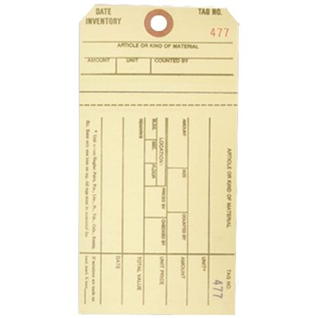 Inventory Tags - Style IT-5