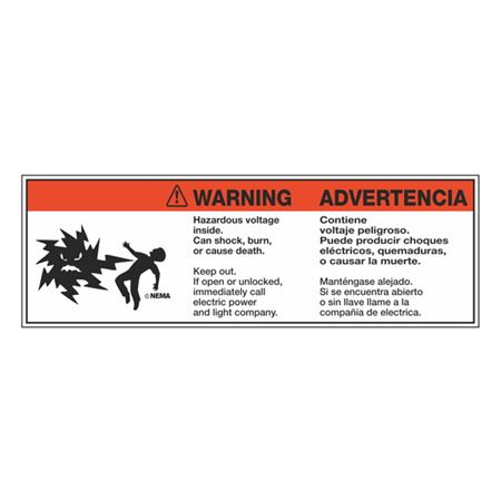 TransformerDecals Warning/Advertencia Mr. Ouch 3.5 x 10.5