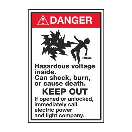 Transformer Decals - Danger Mr Ouch 6 x 4