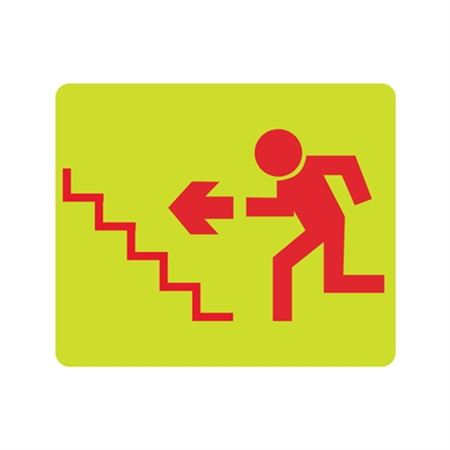 Luminescent (Graphic Stairs Up Left) 10x12 Sign