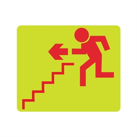 Luminescent (Graphic Stairs Down Left) 10x12 Sign