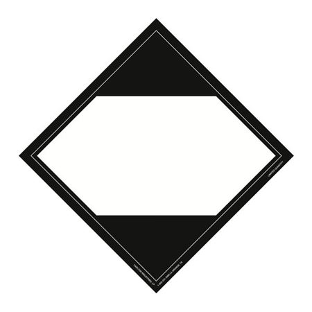 Limited Quantity Markings Placard Blank