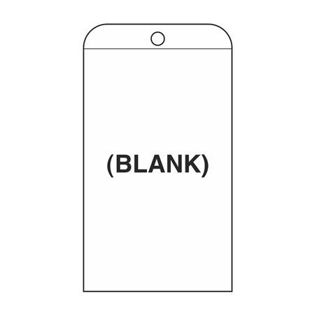 Self-Laminating Tags - Blank Tag 3 1/8 x 5 5/8
