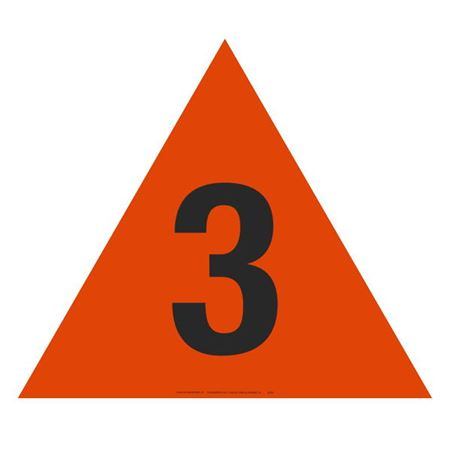 Military Fire Division Symbols - Triangle #3