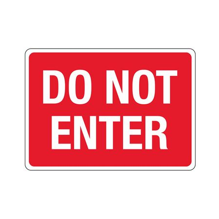 Stock Property Protection Sign - Do Not Enter