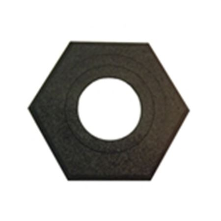 Navicade™ Stackable Delineator - 16 lb. Rubber Base