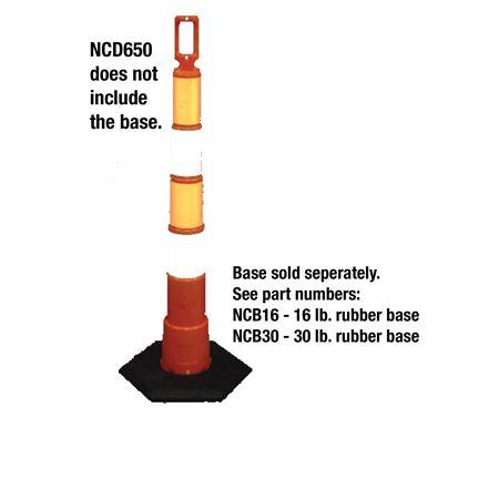 Navicade™ Stackable Delineator w/  Engineering Grade Refl.