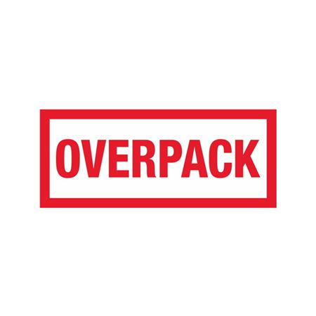 Overpack - 2-1/2 x 6
