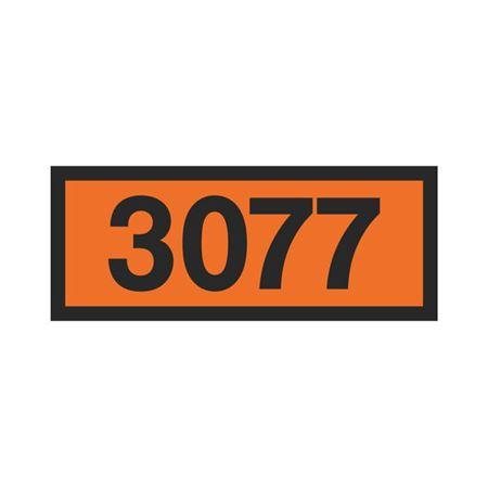 Printed Orange Panels - 3077 Orange Panel 160mm x 400mm
