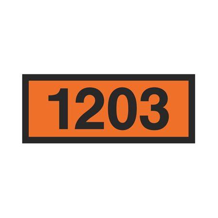 Printed Orange Panels - 1203 Orange Panel 160mm x 400 mm