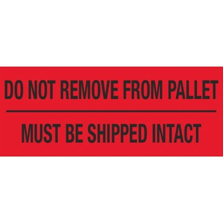 Do Not Remove From Pallet Must Be Shipped Intact - 2 x 5