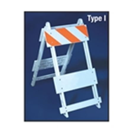 Hi-Impact Plastic Barricades - Type I Hi-Impact Plastic Barricade