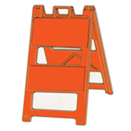 Reflective Jumbo Signs - Type 2 Barricade Solid Orange Reflective