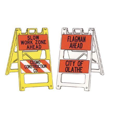 Reflective Jumbo Signs - Custom Printed on Both Panels