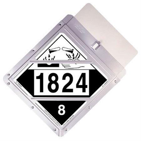 Placard Holder Shield - Clear Vinyl