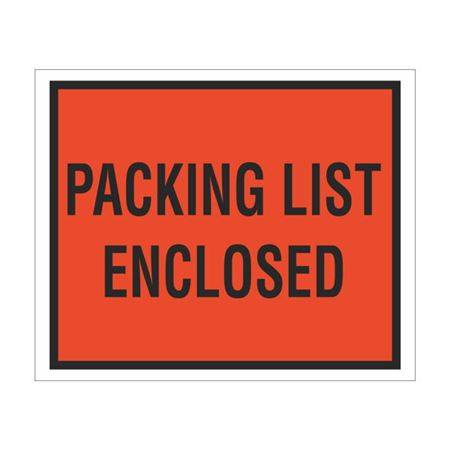 Packing List Envelopes - Packing List Enclosed 4.5 x 5.5