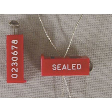 Plastic Security Wire Seals - 12 inch wires