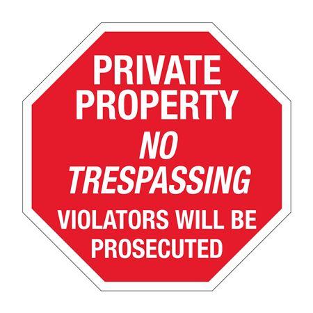 Private Property No Trespassing Violators Prosecuted