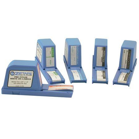 Zip Tape Calibration Labels - Calibration .75 x 1.5