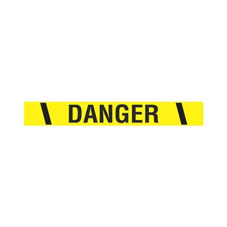 "Printed Vinyl Tape - Danger 2""x100'"