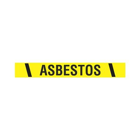 """Vinyl Tape w/Pressure Sensitive Adhesive-ASBESTOS-2""""x100'"""