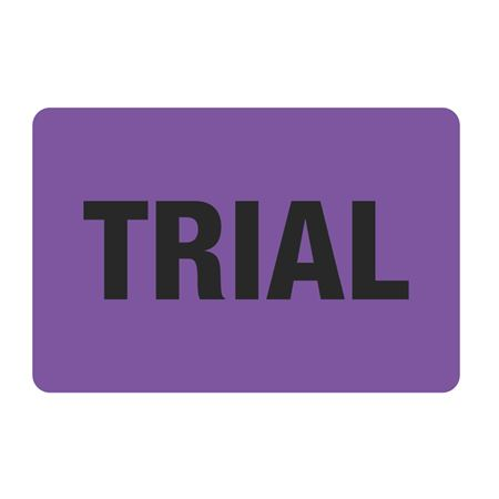 "Food Facility Labels Trial 500/RL  4"" x 6"""