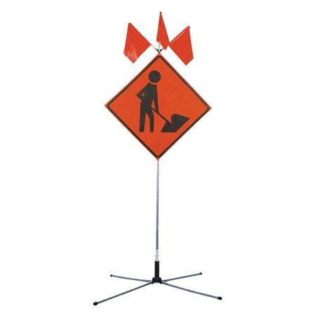 TwinFlex Extra Tall Sign Stand