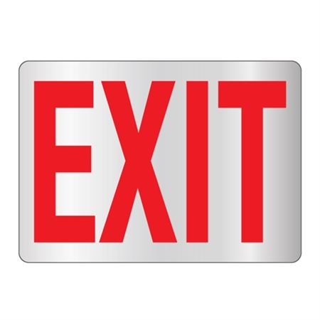 Exit Sign - Reflective