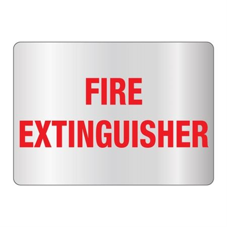 Fire Extinguisher Sign Reflective
