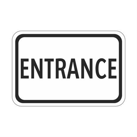 Entrance - High Intensity Reflective 12 x 18