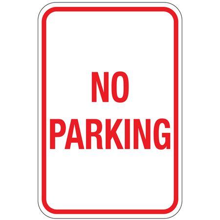 No Parking Sign 12x18