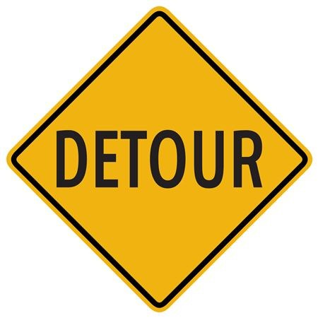 Detour Sign