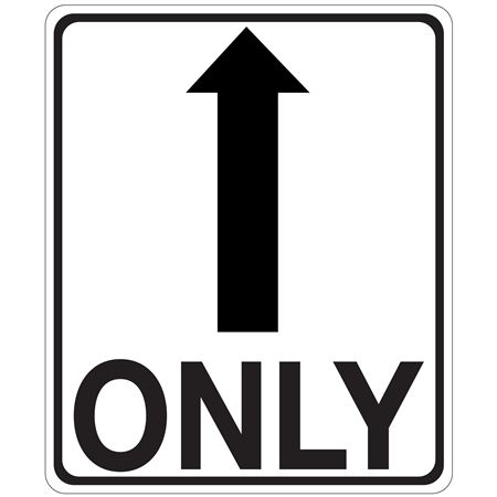 Only Arrow -Up Sign
