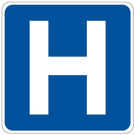 Hospital (Graphic) Sign