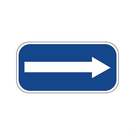 Arrow Right Sign 6 x 12