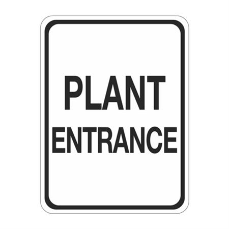 Plant Entrance Sign