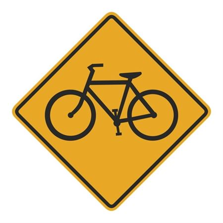 Bicycle (Graphic) Sign  24 x 24