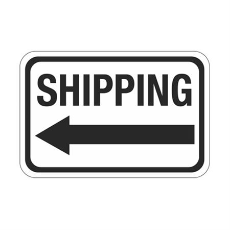 Shipping Arrow - Left Sign