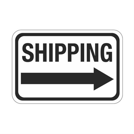 Shipping Arrow - Right Sign