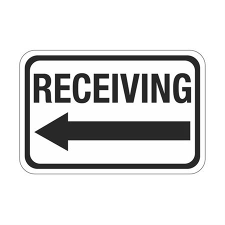 Receiving Arrow - Left Sign