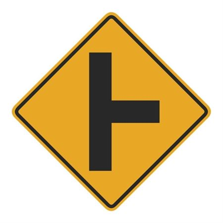 T Junction (Graphic) Sign