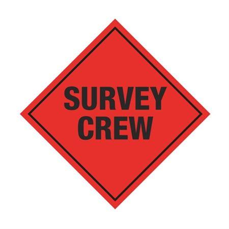 Survey Crew Sign