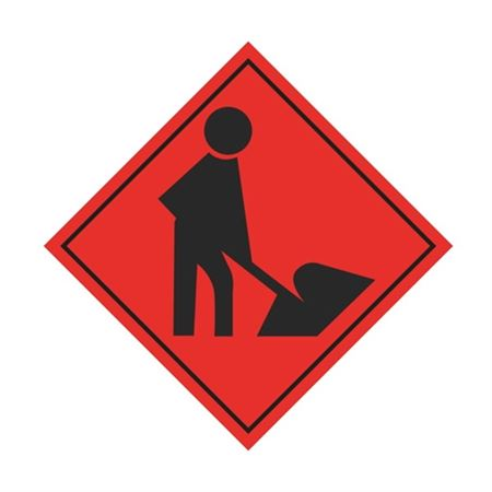 Worker (Graphic) Sign