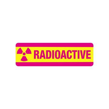 Radiation Markings - Radioactive - Magnetic Vinyl