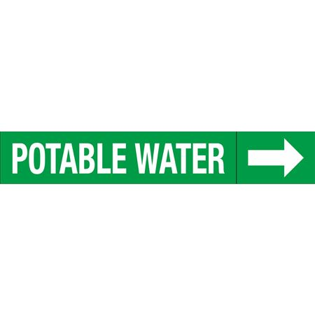 Roll Style Pipe Markers - POTABLE WATER